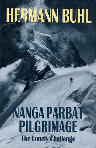 Climbing Toward Nanga Parbat Silver Plateau - Nanga Parbat Pilgrimage: The Lonely Challenge book cover