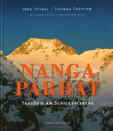 Nanga Parbat Diamir Face At Sunset - Nanga Parbat: Tragodie Am Schicksalsberg book cover