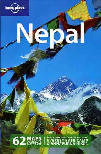 Mount Everest North And Southwest Faces With Prayer Flags - Nepal (Lonely Planet) book cover