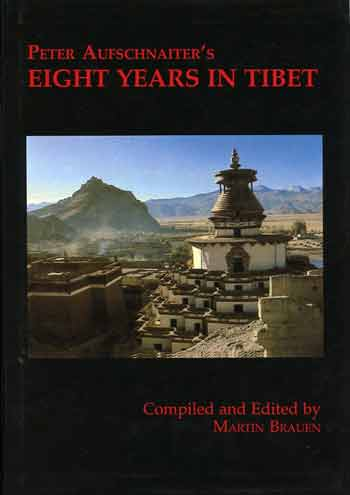Gyantse - Peter Aufschnaiter Eight Years in Tibet book cover