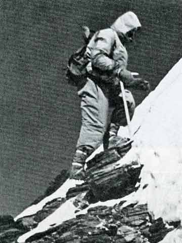 Cho Oyu First Ascent - Herbert Tichy At About 8000m - Quest For Adventure book