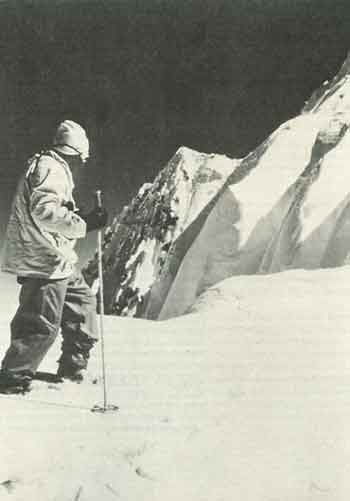 Hermann Buhl Paused, Exhausted On Broad Col June 9, 1957 - Quest For Adventure book