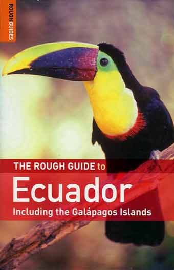 Rough Guide To Ecuador book cover