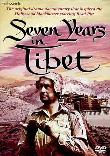 Heinrich Harrer And Potala Palace - Seven Years In Tibet 1957 DVD cover