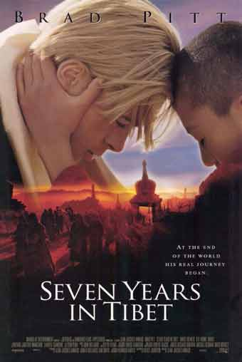 Seven Years In Tibet DVD cover