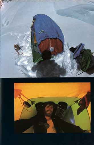 Reinhold Messner At Nanga Parbat Third Bivouac 7400m On August 8, 1978 - Solo: Nanga Parbat book