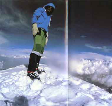 Reinhold Messner On Nanga Parbat Summit August 9, 1978 - Solo: Nanga Parbat book