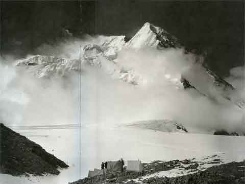 Broad Peak Central And North Summits Chinese Side From Godwin-Austen Glacier 1909 - Summit Vittorio Sella book