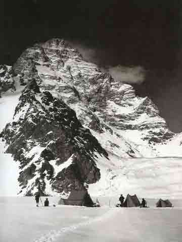 K2 West Face Camp June 1909 - Summit: Vittorio Sella book