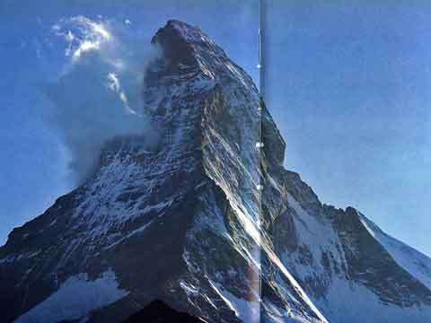 Matterhorn East And North Faces - The Alps by Shiro Shirahata book