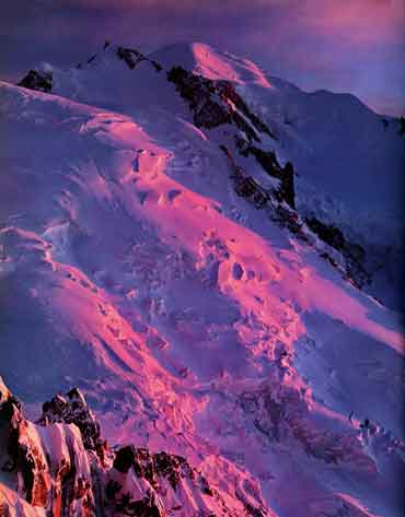 Mont Blanc Sunset From Aiguille du Midi - The Alps by Shiro Shirahata book