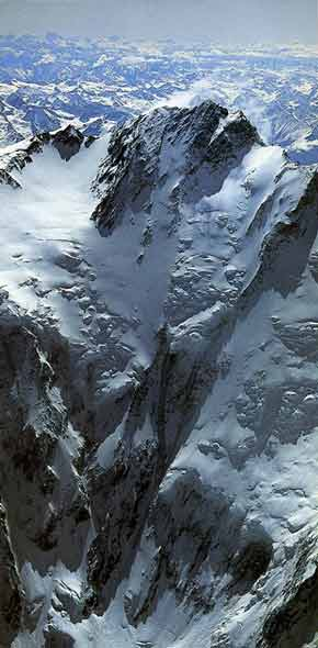 Nanga Parbat Diamir Face From Airplane - The Big Walls book