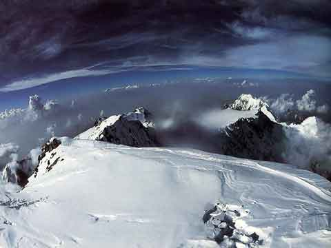 Reinhold Messner Photo To The East From Nanga Parbat Summit August 9, 1978 - The Big Walls book