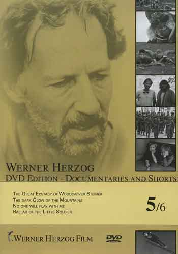 Werner Herzog - The Dark Glow of the Mountains DVD cover