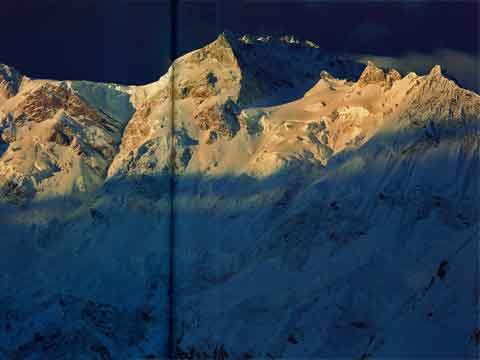 Nanga Parbat North Face From Fairy Meadows - The Karakoram: Mountains of Pakistan book
