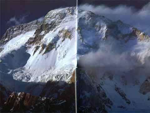 Broad Peak From Concordia - The Karakoram: Mountains of Pakistan book