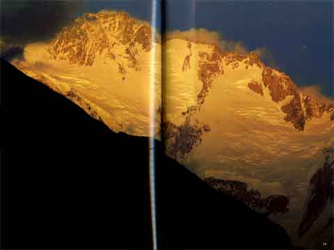 Nanga Parbat Diamir face At Sunset - The Karakoram: Mountains of Pakistan book