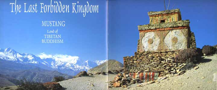Chorten at the top of the Shyangmochen La near Geiling in Upper Mustang - The Last Forbidden Kingdom Mustang: Land Of Tibetan Buddhism book