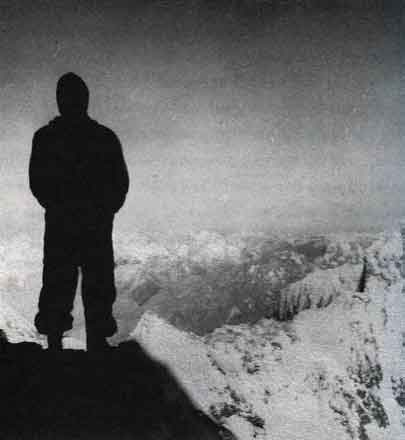 The Last Man On The Mountain - Highest Known Photo From 1939 American K2 Expedition, Probably From Camp VIII - The Last Man On The Mountain book