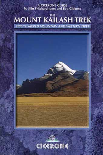 Kailash from south - The Mount Kailash Trek book cover