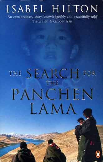 Pilgrims at Yamdruk Tso, the 11th Panchen Lama, Gedhun Choekyi Nyima - The Search For The Panchen Lama book cover