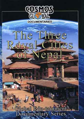 Patan Durbar Square Taleju and Hari Shankar Temples and Taleju Bell - The Three Royal Cities Of Nepal DVD cover