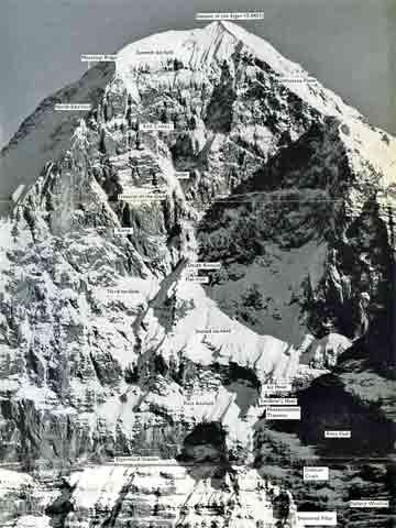 Eiger Nordwand North Face Features - The White Spider book