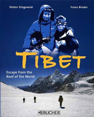 Tibet Refugees On Nangpa La Pass In Nepal - Tibet: Escape From The Roof Of The World by Dieter Glogowksi book cover