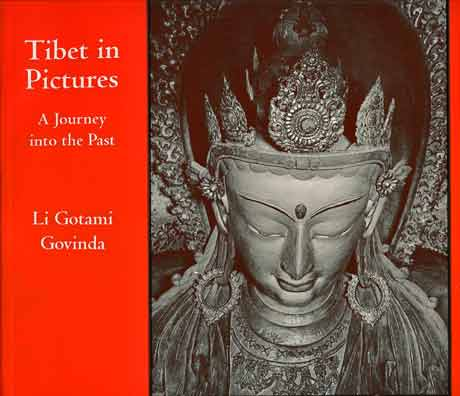 Head of Ratnasambhava in Gyantse Kumbum - Tibet In Pictures: A Journey Into The Past book cover