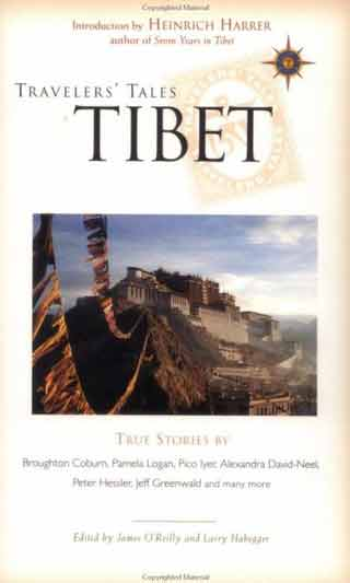 Potala Palace - Travelers Tales Tibet book cover