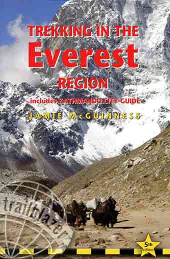 Yaks enroute to Lobuche - Trekking in the Everest Region book cover