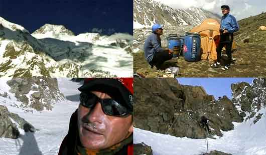 Nanga Parbat Diamir Face, Ed Viesturs And Jean-Christophe Lafaille At Nanga Parbat Base Camp, Climbing Nanga Parbat - Trio For One: Jean Christophe Lafaille DVD
