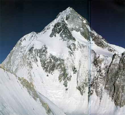 Gasherbrum I Northwest Face From Gasherbrum II - Wanda Rutkiewicz: A Caravan Of Dreams book