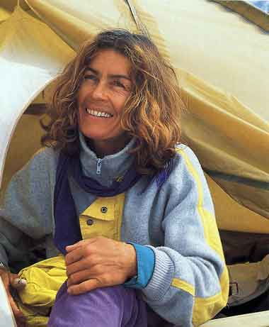 Wanda Rutkiewicz After Her Ascent Of Gasherbrum II On July 12, 1989 - Wanda Rutkiewicz: A Caravan Of Dreams book